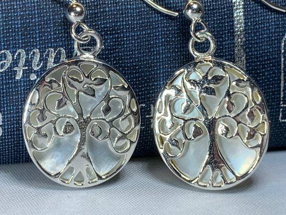 Tree of Life Earrings, Celtic Jewelry, Tree Jewelry, Irish Jewelry, Anniversary Gift, Bridal Jewelry, Norse Jewelry, Yoga Jewelry, Wiccan