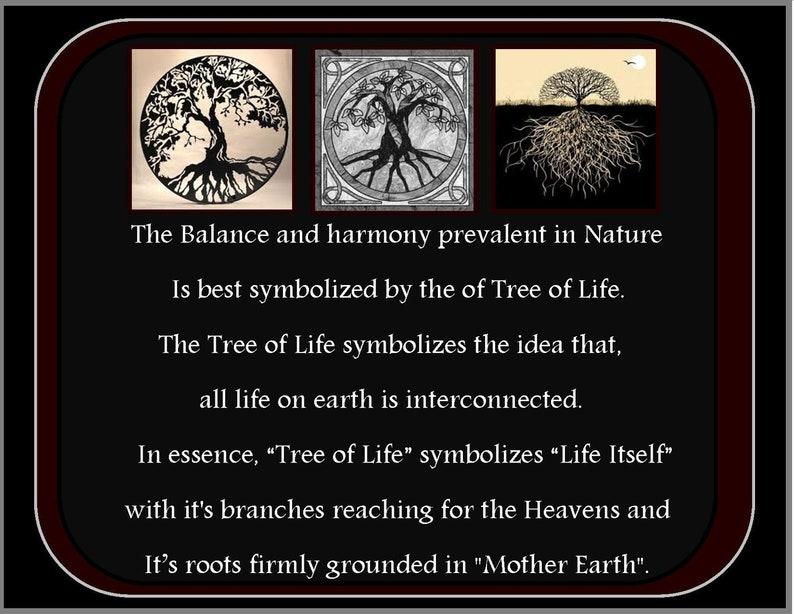 Survivor Gift Nature Jewelry Scotland Jewelry Irish Jewelry Tree of Life Necklace Celtic Jewelry Anniversary Gift Norse Jewelry