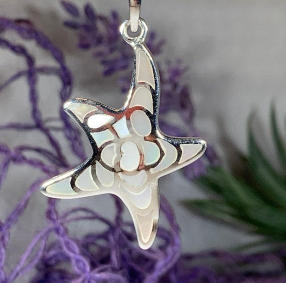 Starfish Necklace, Nautical Jewelry, Shell Jewelry, Christian Jewelry, Sea Jewelry, Animal Jewelry, Nature Necklace, Beach Jewelry, Mom Gift