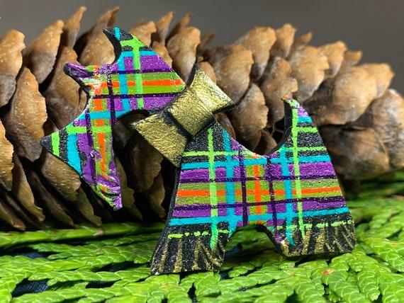Dog Scottish Brooch, Dog Lover Gift, Scotland Jewelry, Dog Pin, Scarf Pin, Celtic Pin, Dog Jewelry, Scottish Terrier Gift, Scotland Pin