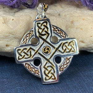 Celtic Cross JewelryCross JewelryCross PendantSterling Silver Pendant925 PendantDesigner JewelryHand Made JewelryUnique Jewelry