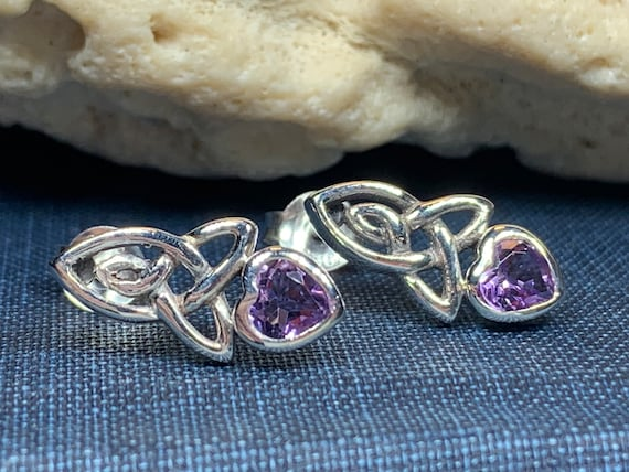 Celtic Mother's Knot Earrings, Irish Jewelry, Celtic Jewelry, Anniversary Gift, Bridal Jewelry, Norse Jewelry, Yoga Jewelry, Wiccan Jewelry