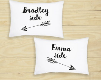 Couples Novelty Pillow Case Your