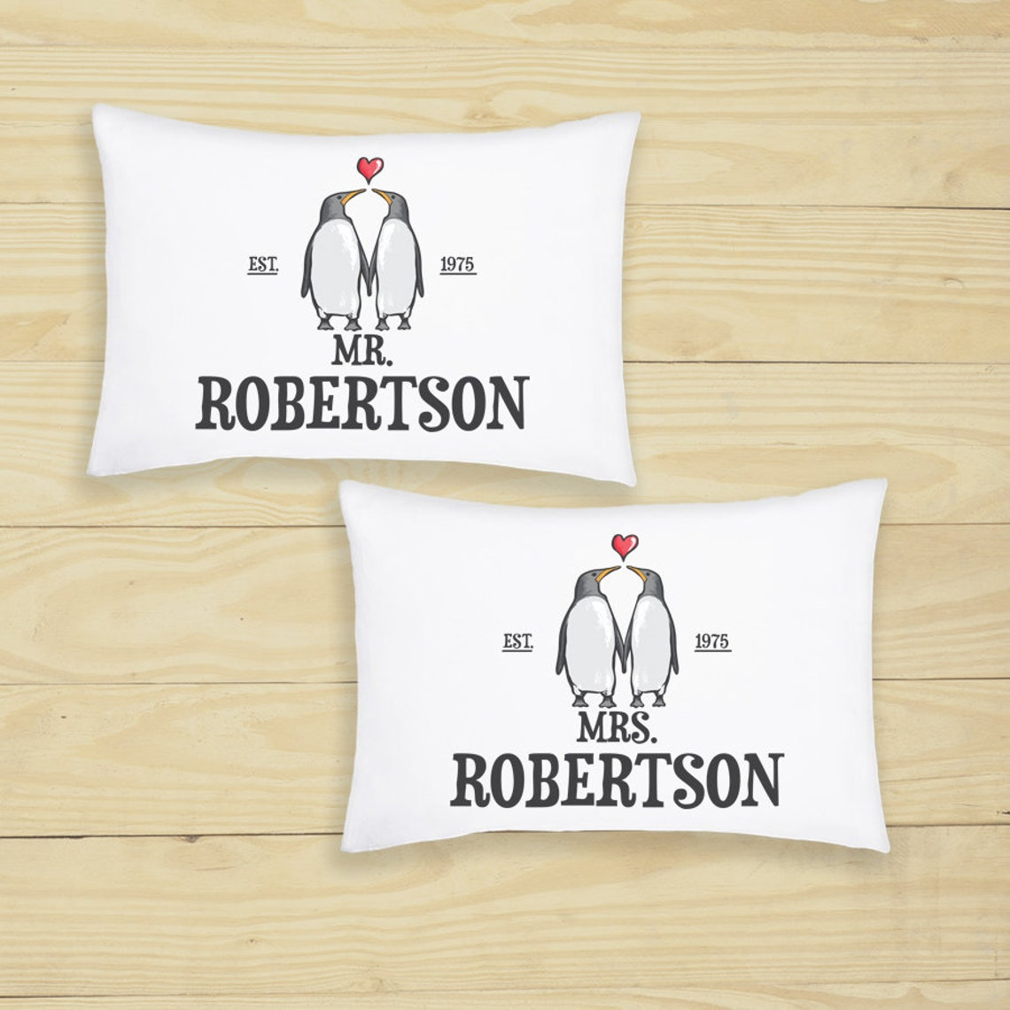 Personalised pillow covers