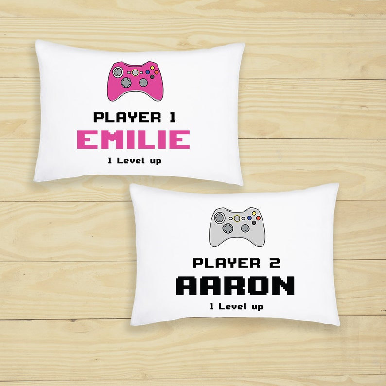 Personalised Printed Photo Pillow Case Custom Print Cushion Cover Birthday Gift