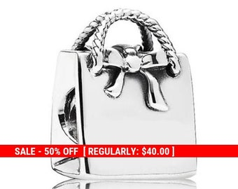 538a1bdc1 Sterling Silver Purse Charm, Purse Pendant, Fashion Charm, Pocketbook Charm,  Bag Charm, Ladies Charm, Art Deco Purse, Fits Pandora