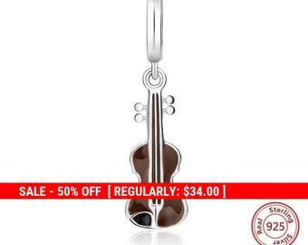34cebc6d6 ... bracelet 5701c d5471; greece sterling silver violin charm music charms  violin jewelry instrument charms musical charms musician charm unusual