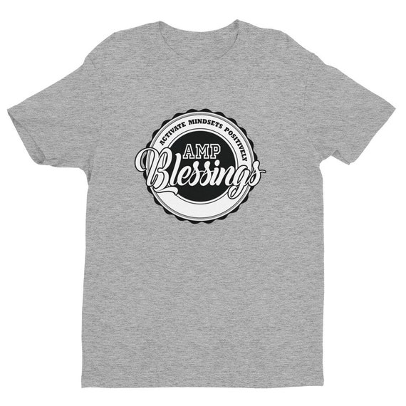 cc7fbcebb4e Short Sleeve T-shirt AMP Street Wear Blessings T-Shirt