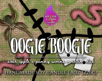 Oogie Boogie | The Nightmare Before Christmas, Tim Burton Inspired Soy Candle or Wax Melt | Movie Candle | Movie Gift | Halloween, Christmas