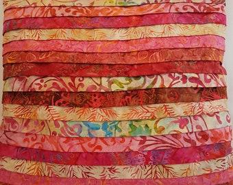 Pink layered cushion