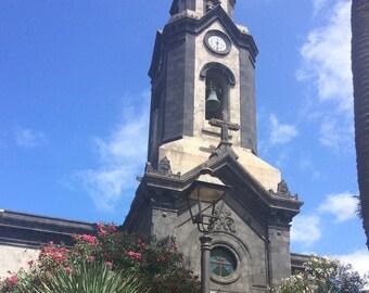A4 Poster 'Tenerife Church'