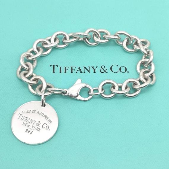 GENUINE Tiffany & Co Return to Tiffany Round Tag B