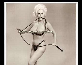 Vintage 1950's Stripper Liz Renay 8x10 Glossy Photo