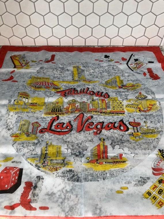 Vintage Las Vegas Scarf