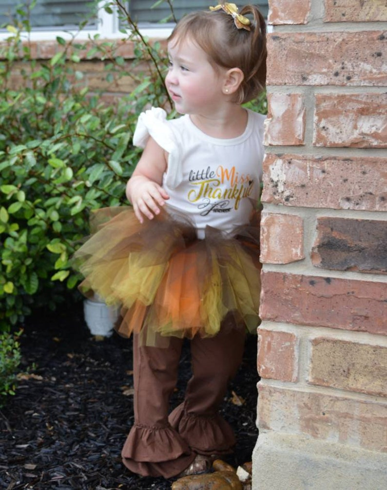 dc1c2c7854 Thanksgiving Pant and Tutu Set Personalized Thanksgiving | Etsy