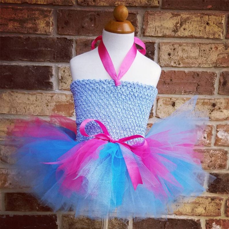 2c60a1e117 Cotton Candy Tutu Dress First Birthday Outfit Baby Girl | Etsy