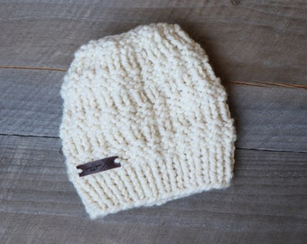 Made to Order - The Academy Ponytail Hat - Hand Knit Hat e96ffd199dde