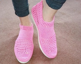 Womens Semi Boot(crochet)