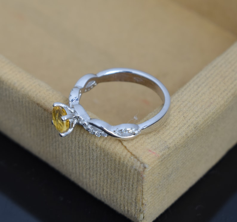 Citrine ring Engagement Ring Natural Citrine Ring Promise Ring 925 Sterling Silver Ring Wedding Ring Citrine Wedding Ring Bridal Ring