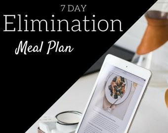 Elimination Meal Plan