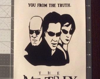 The Matrix Vinyl Adhesive Decal