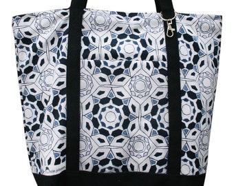 Tote Bag - Kaleidoscope Pattern