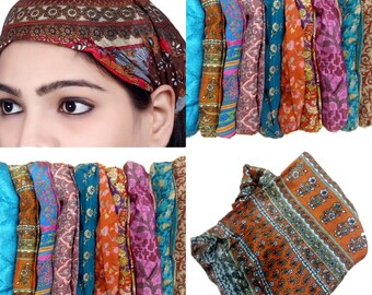 Lot 10 Pieces Womens Mens Silk Headband Printed Hairband Bandana Unisex  Headbands Yoga Headbands Casual Workout Hairbands 947c10421