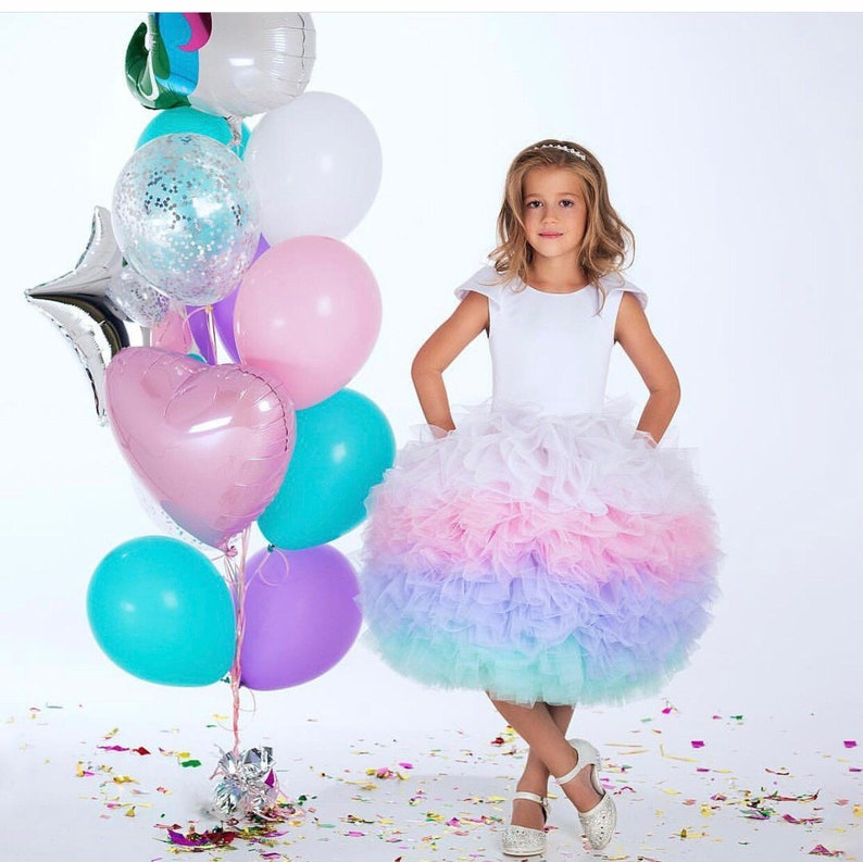 Pageant Raspberry Red Tutu Skirt Dance Party Dress For Girl Adult Women Lady