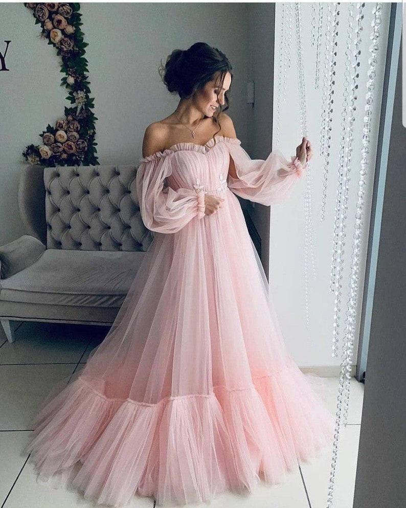 8560ec41e6e Off shoulder dress wedding guest dress baby shower dress boho