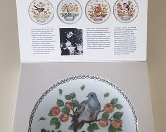 Hutschenreuther, Ole Winther, Plate of the month Oktober
