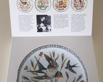 Hutschenreuther, Ole Winther, Plate of the month August