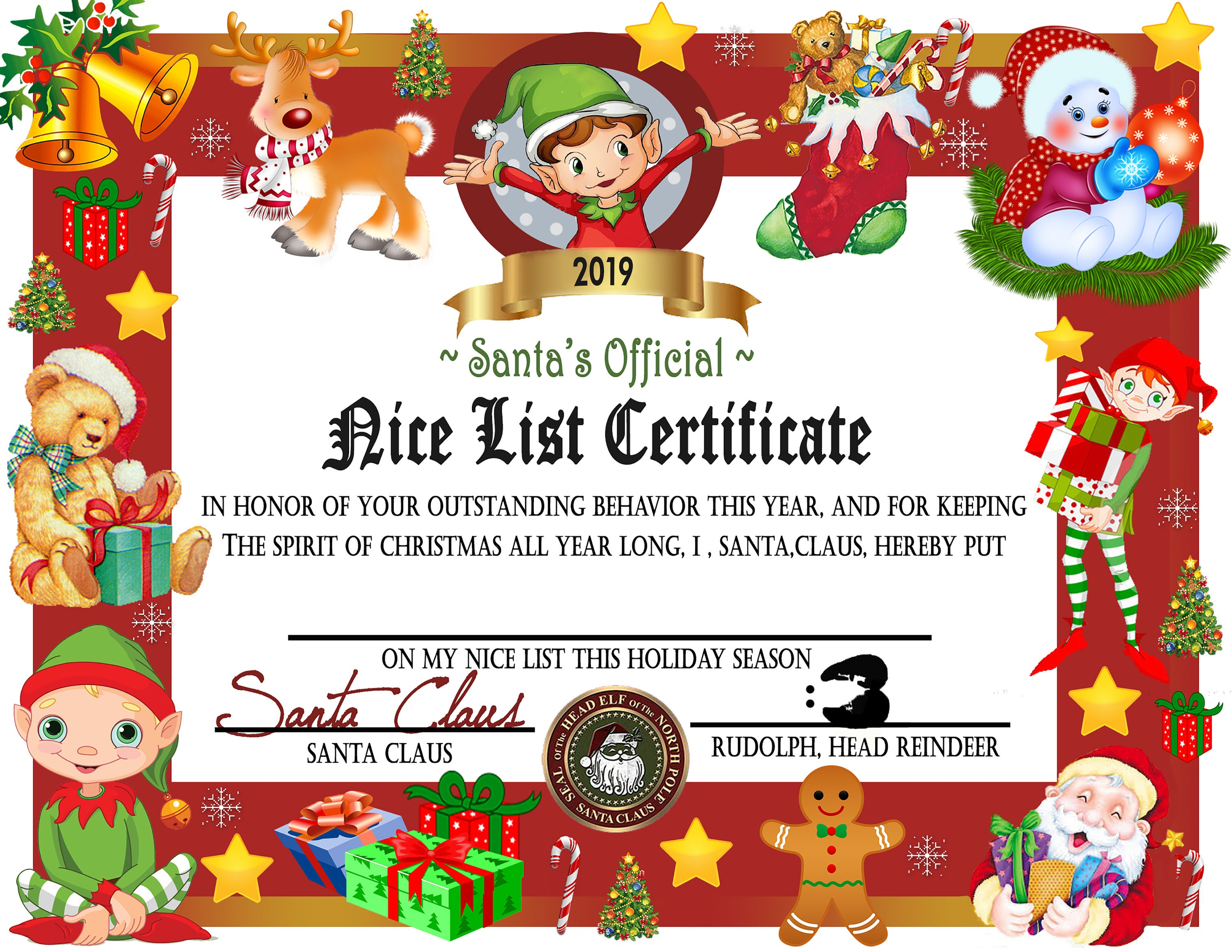 graphic relating to Printable Santa Nice List Certificate identify Printable Wonderful Checklist Certification, Quick Obtain, Good Record, Letter, Xmas Printables, Printable Certification, Santa Record Do it yourself PRINTABLE
