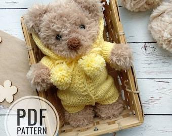 15 Crochet Teddy Bear Patterns   270x340