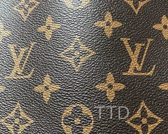 d3aca8095e23 Louis Vuitton LV Leather Vinyl Louis Vuitton LV Fabric Material By The  Metre By The Yard FREE ww Shipping!!