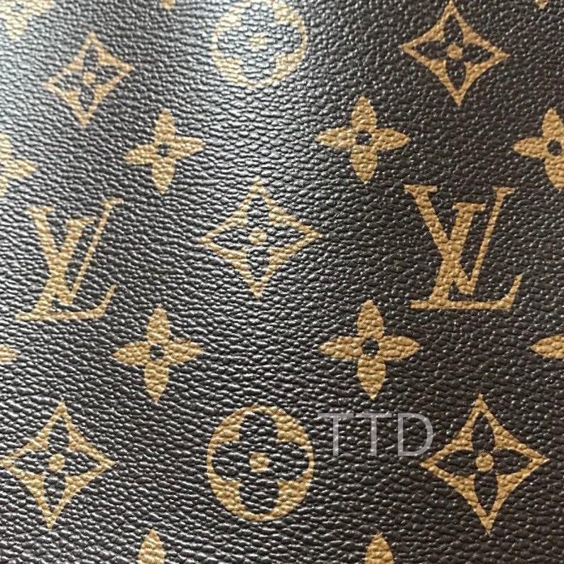 339d2283a32b Louis Vuitton LV Leather Vinyl Louis Vuitton LV Fabric