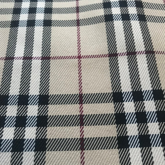 ddf626c53c7 Burberry Fabric Material By The Metre By The Yard Burberry