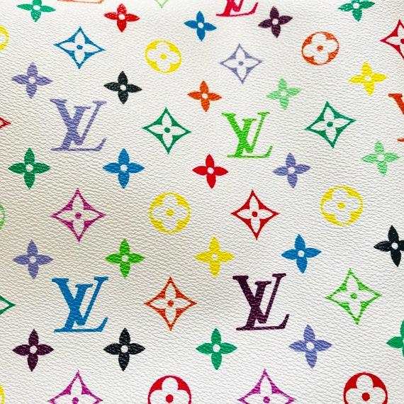 Louis Vuitton Lv Rainbow Leather Vinyl Louis Vuitton Lv