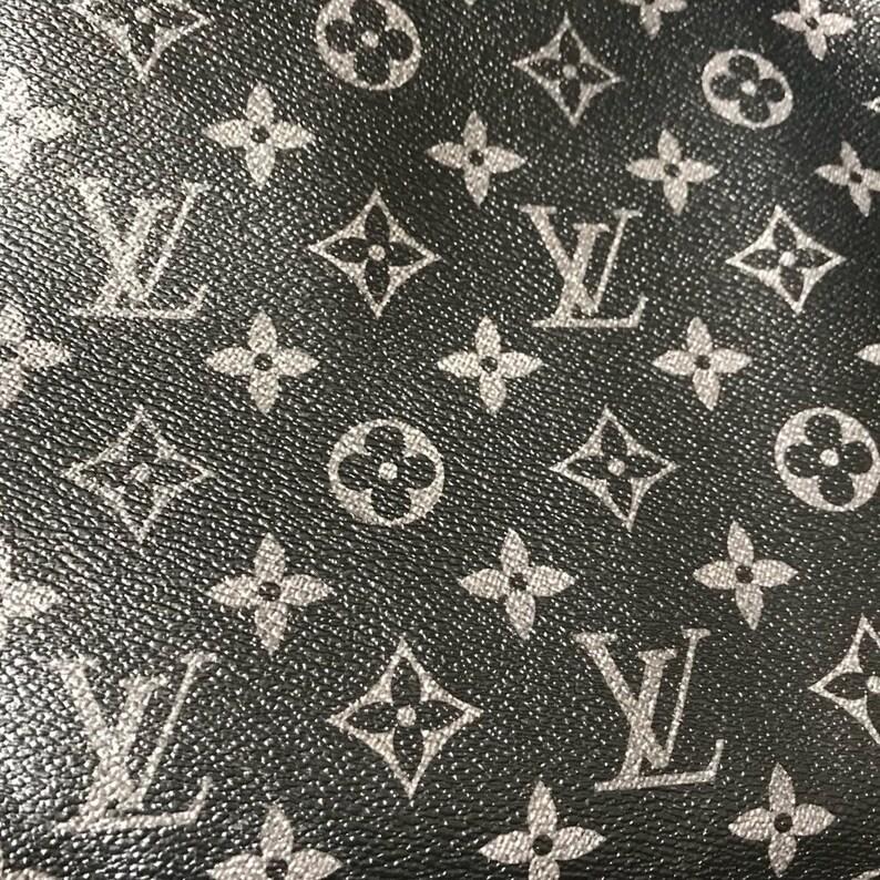 6a30fc22df80 Louis Vuitton LV Leather Vinyl Grey Louis Vuitton Graphite