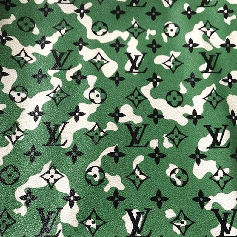ec0762604dd3 Louis Vuitton LV Leather Vinyl Camo Louis Vuitton Camouflage