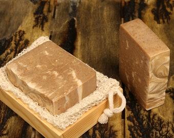 Oatmeal Goats Milk & Honey Soap