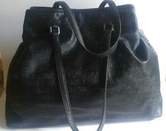 Armani Exchange A X Extra Large Embossed Tote Bag a85c6621ac