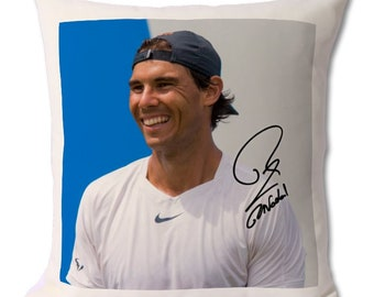 Rafael Nadal THE KING OF CLAY Tennis Signed Autograph Signature A4 Poster