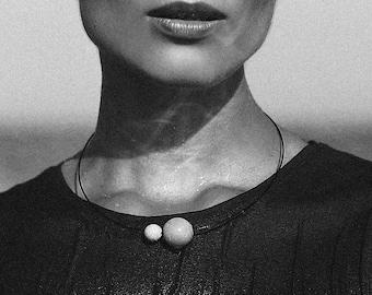 Minimalist design Concrete necklace | Unique Beton  pendant