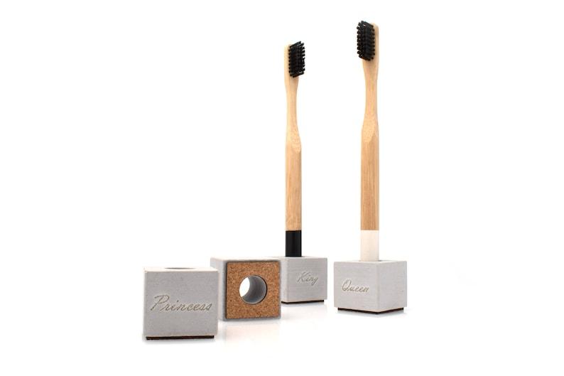 Single Toothbrush Holder Personalised Housewarming Gift from image 0