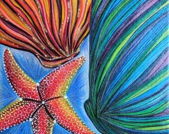 Seashore  - Painted Canvas