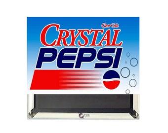 Crystal Pepsi Magnet