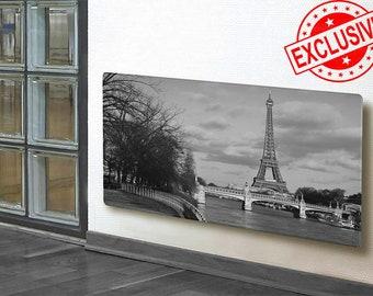 0328 HEATING GLASS PANEL, Eiffel Tower wall art, Eiffel Tower print, Eiffel Tower wall decor, Eiffel Tower artwork