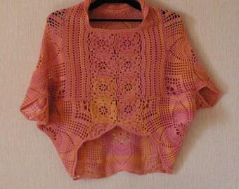 Crochet Melange Jacked