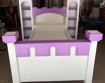 Princess Castle Bed Etsy