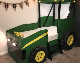 Tractor Bed Plans Etsy